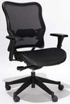 Ergonomic Black Mesh Chair w/ Lumbar Support