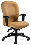 Ergonomic Lt Cinnamon Fabric Chair