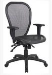 Ergonomic Black Frame/Black Mesh Chair